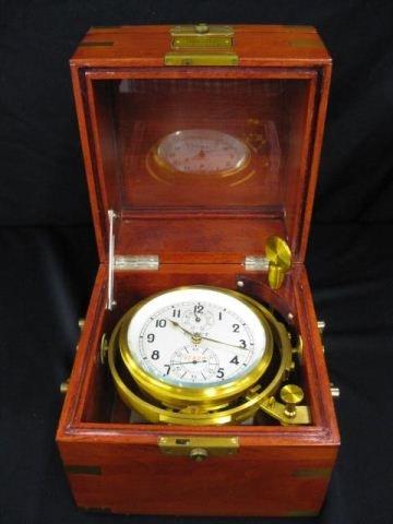504: Russian Ships Clock in Box,