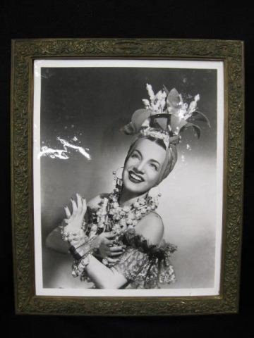 505: Tiffany Bronze Picture Frame,