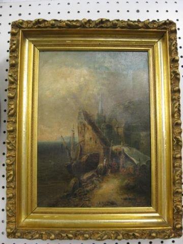 512: Arlington N. Lindenmuth, Oil on Canvas,