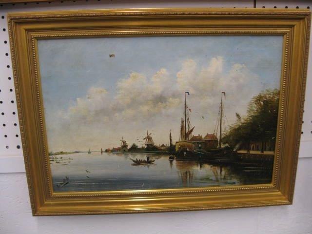 513: Dutch Oil on Canvas,