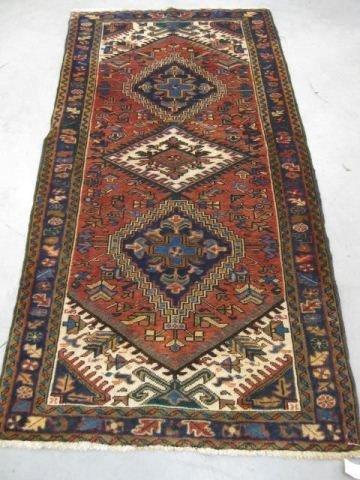 514: Heriz Persian Handmade Rug,