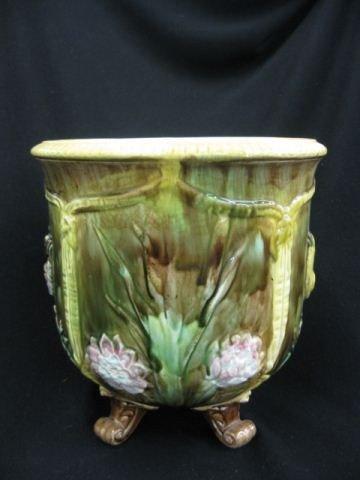 6: Majolica Pottery Jardiniere,