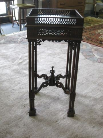 14: Chinese Chippendale Side Table,
