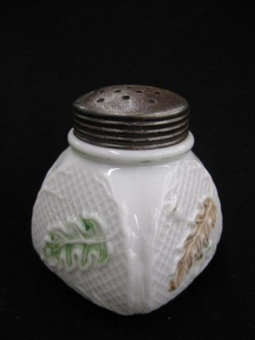 20: Northwood Victorian Art Glass Sugar Shaker,