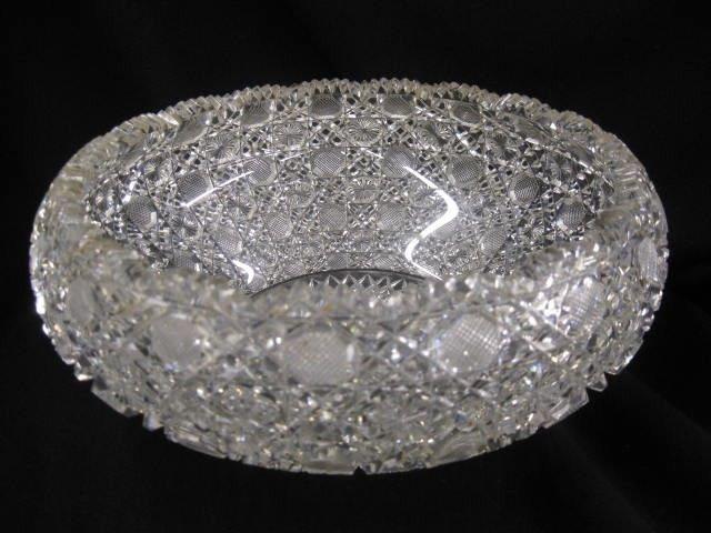 502: Brilliant Period Cut Glass Bowl, superb overall pa