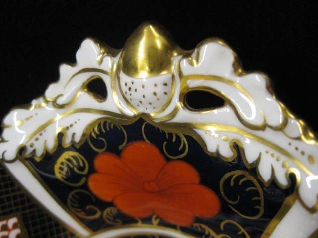 "517: Royal Crown Derby ""Imari"" Porcelain Dish, 8"" x 11"