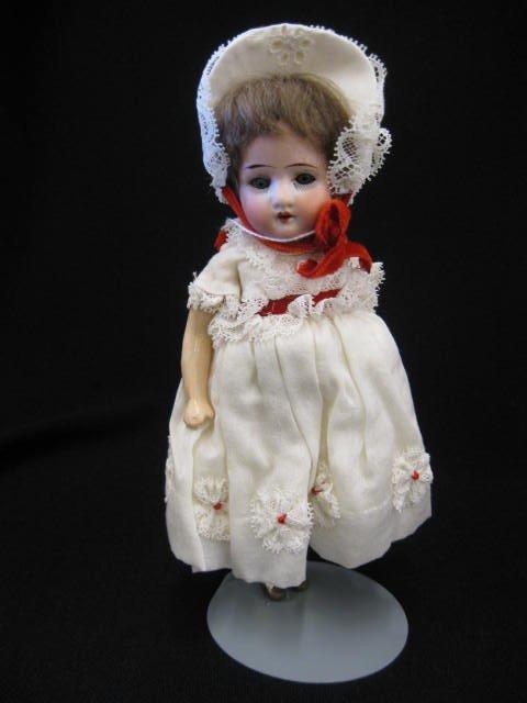 2: Victorian Bisque Head Girl Doll  Heubach-Koppelsdorf