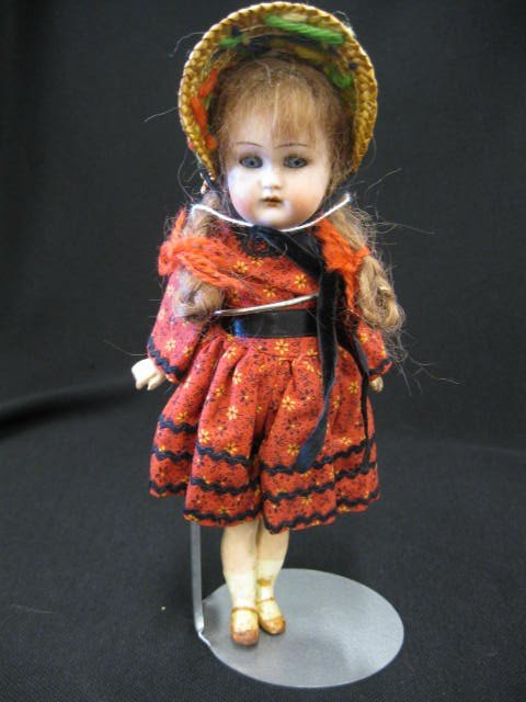3: Victorian Bisque Head Girl Doll, by Simon & Halbig,