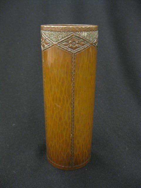 212: Roycroft Arts & Crafts  Copper Vase by Karl Kipp,