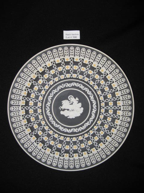 500: Wedgwood Multi-Color Jasperware Plate,