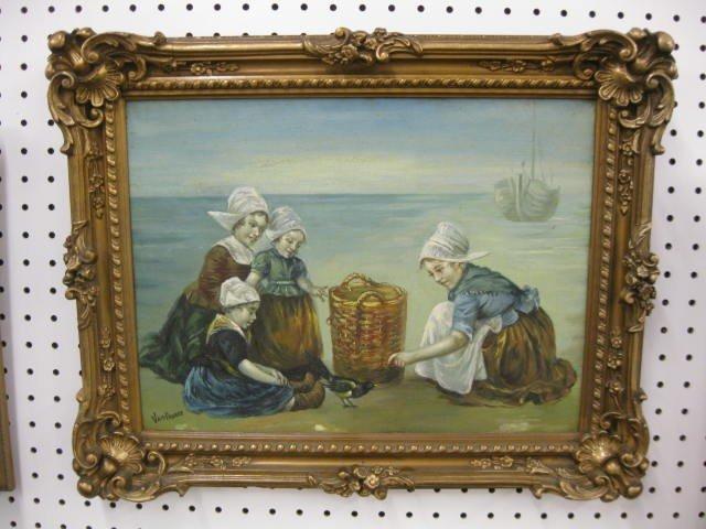 513: Van Pnasse, Oil, Dutch Children