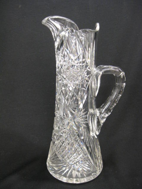 516: Cut Glass Pitcher,