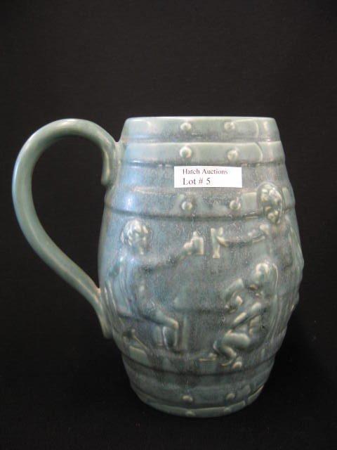 5: Rookwood Pottery Tankard,