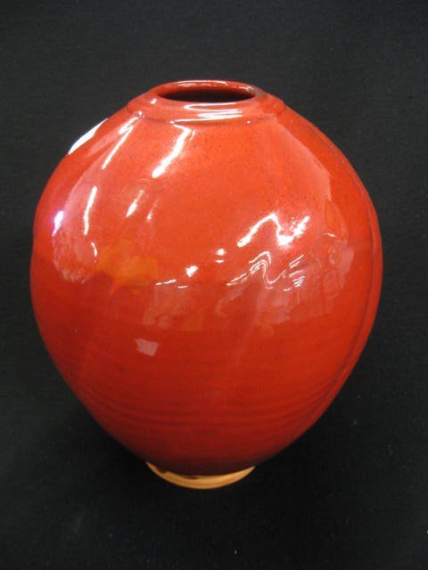 66: Ben Owens North Carolina Pottery Vase,