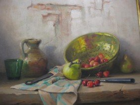 512: Robert Chailloux, Oil, Still Life