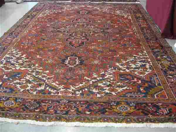 Heriz Persian Handmade Room Size Rug, grand centra