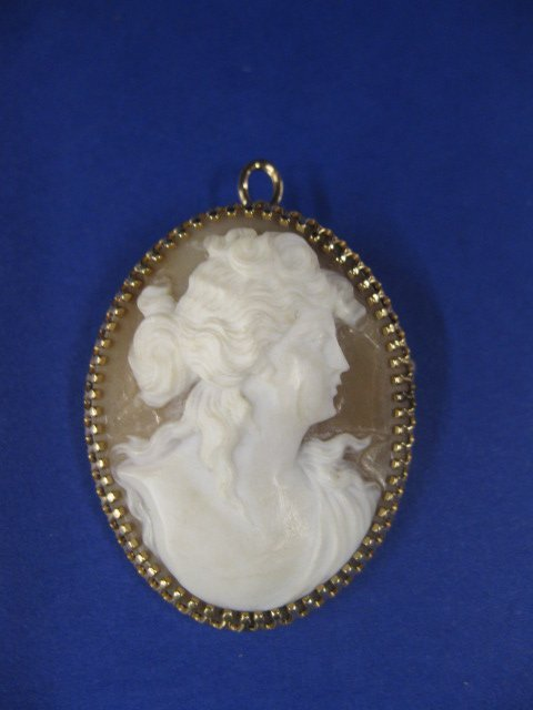 10A: Cameo Pendant or Brooch,