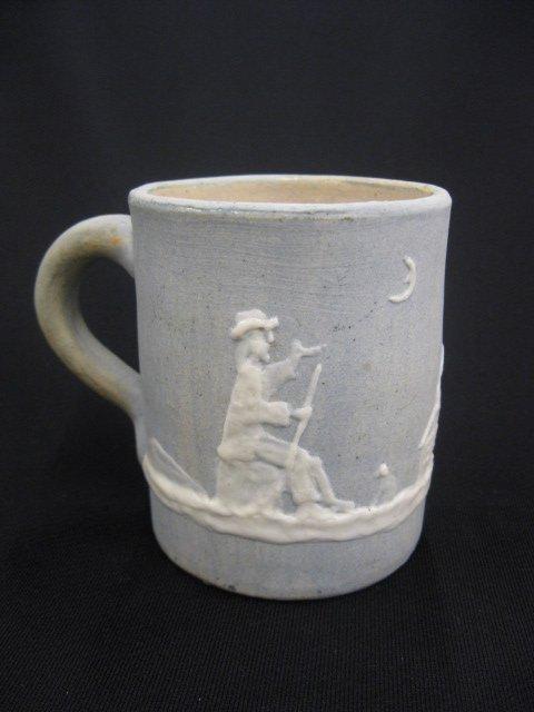 17: Stephens Cameo Art Pottery Mug,