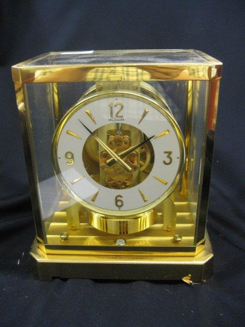 """277: Le Coultre """"Atmos"""" Mantle Clock,"""