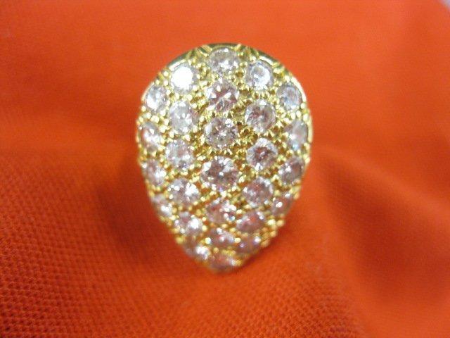 511: Diamond Ring, 27 diamonds totaling 2.25 carats