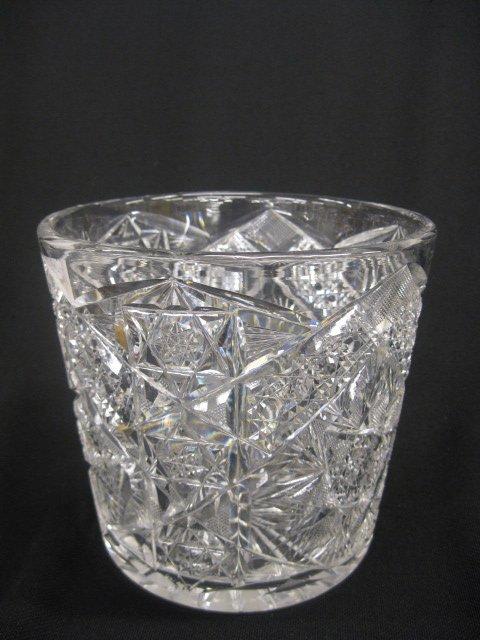 522: Cut Glass Ice Bucket, brilliant period,
