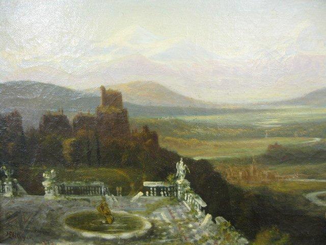 533: Henry L. Hillyer, Oil, landscape