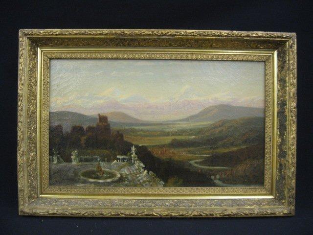 533: Henry L. Hillyer, Oil, landscape - 2