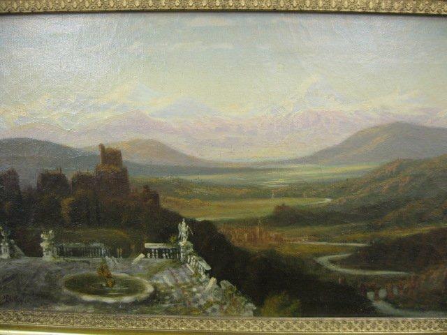 533: Henry L. Hillyer, Oil, landscape - 3