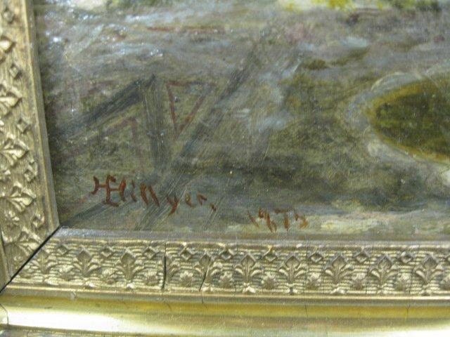 533: Henry L. Hillyer, Oil, landscape - 6