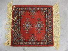 1317: Hamadan Persian Handmade Mat,