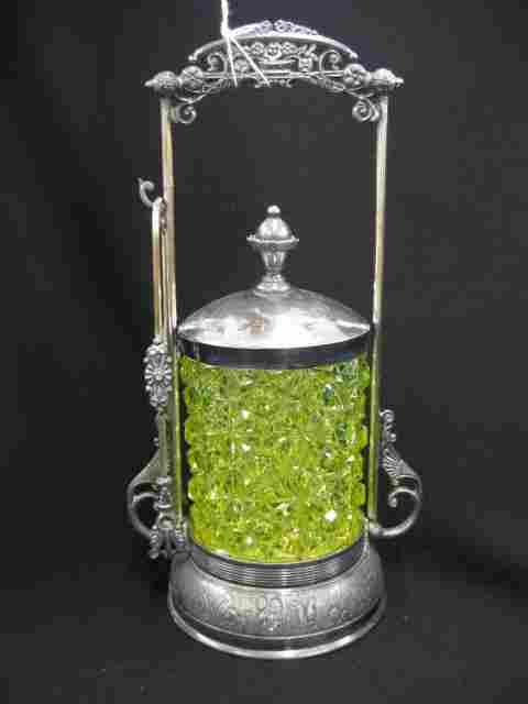 Victorian Pickle Castor,