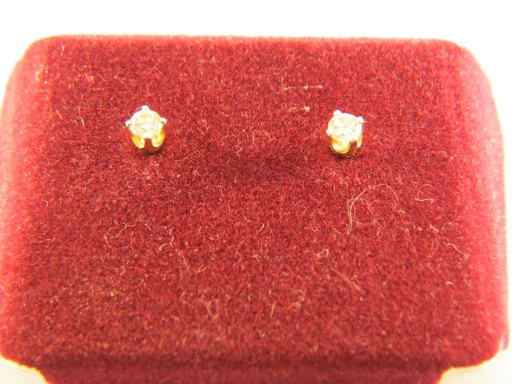 11A: Diamond Stud Earrings,