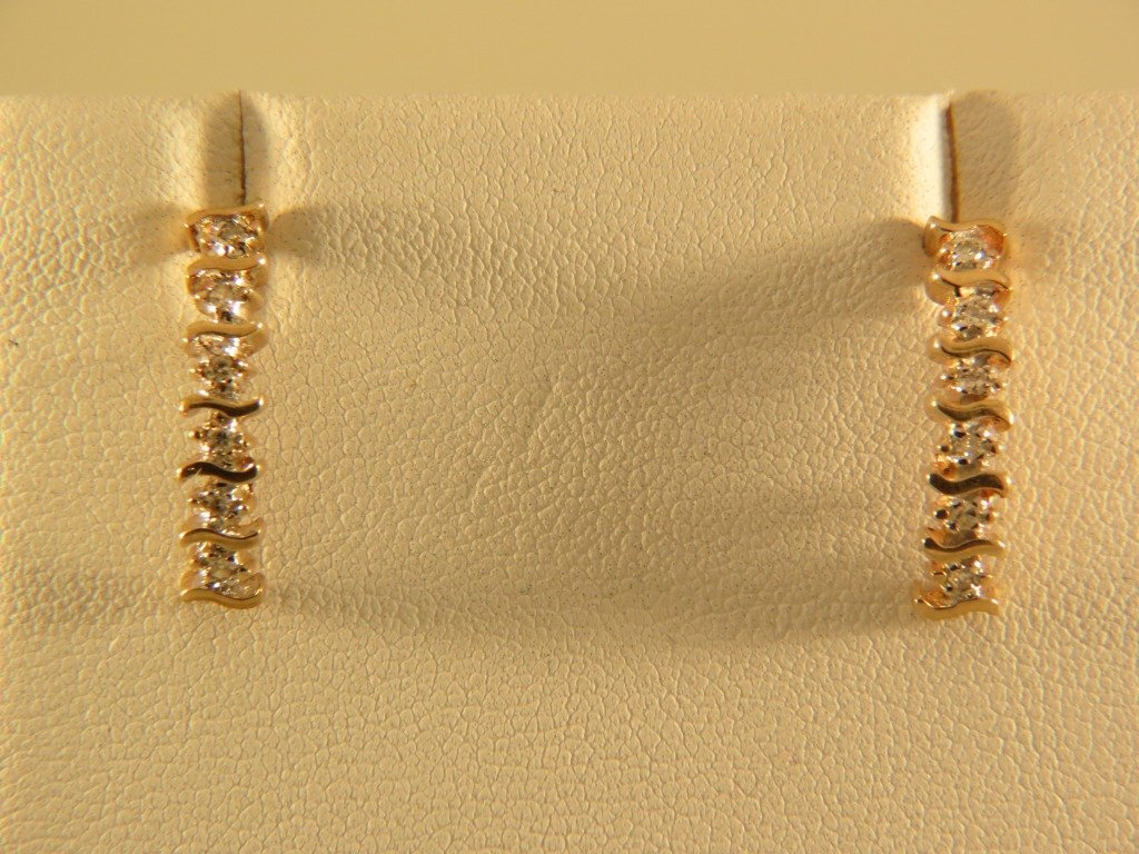 11B: Diamond Earrings,