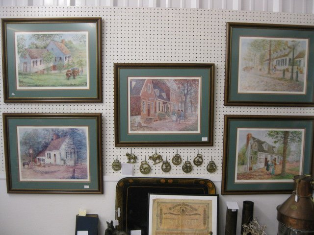 12: Lot of 5 Vernon Wooten Lithographs,