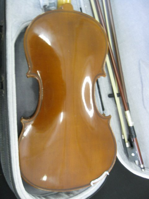 65B: H. Siegler Violin, with bow and case, - 4