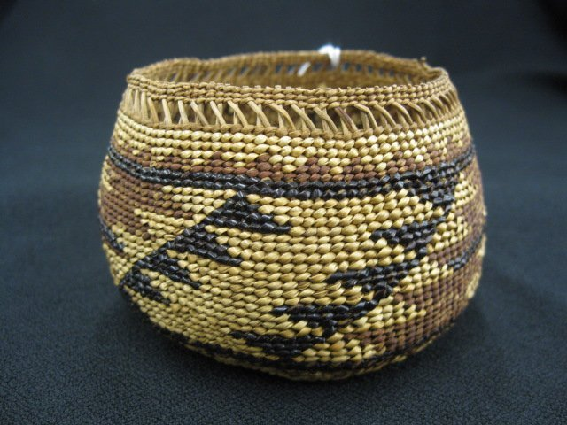 1: Antique Indian Basket,