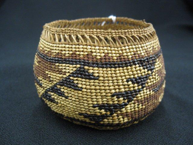 1: Antique Indian Basket,