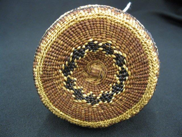1: Antique Indian Basket, - 3