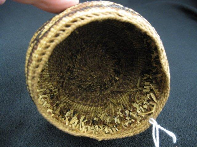 1: Antique Indian Basket, - 4