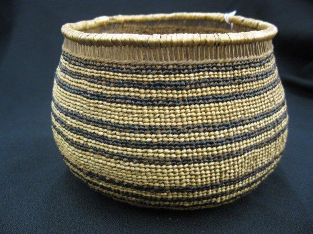 2: Antique Indian Basket,
