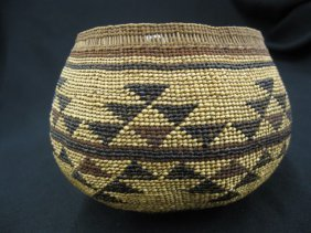 3: Antique Indian Basket,