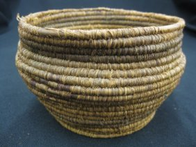 4: Antique Indian Basket,