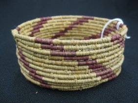 6: Antique Indian Basket,