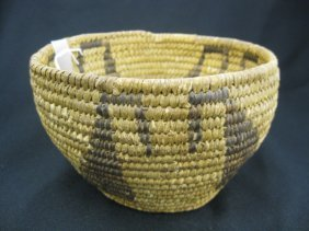 8: Antique Indian Basket,