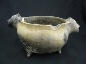 9: Catawba Indian Pottery Bowl,