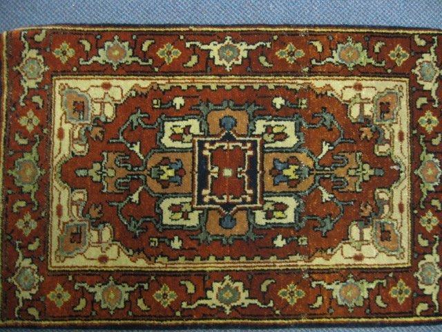 14: Serapi Persian Handmade Mat,