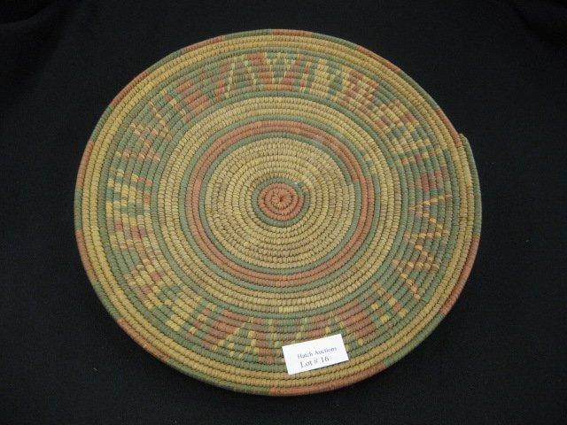 16: Indian Basket,