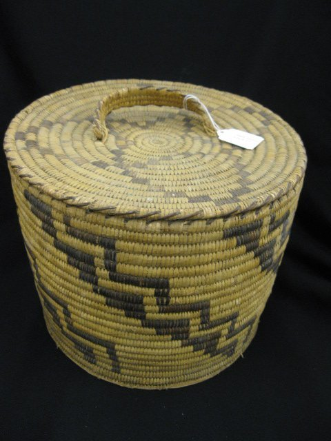 17: Indian Covered Basket,