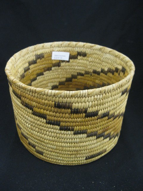 19: Indian Basket,