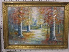 Walter E. Eyden, Indiana Watercolor & Gouache,